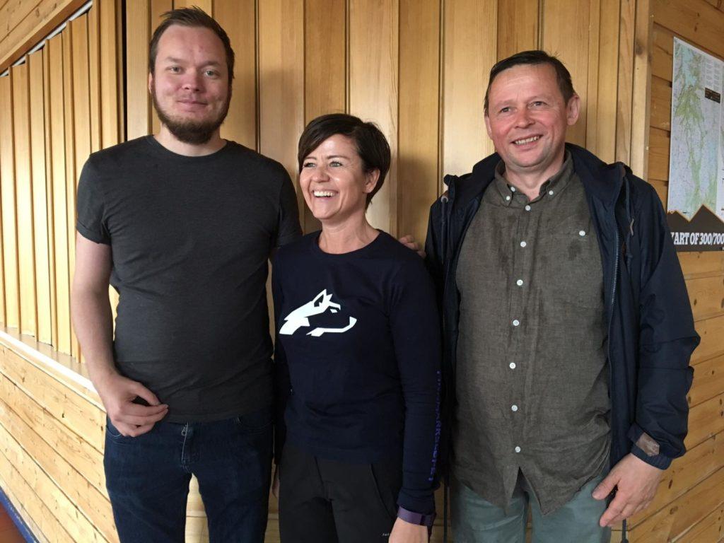 Ordfører i Kautokeino, Johan Vasara og varaordfører i Kautokeino, Anders S. Buljo