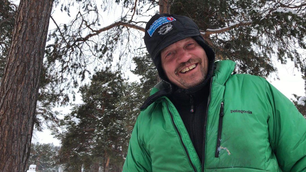 Tom Frode Johansen kom som #7 inn til Karasjok i dag. Foto: Trond A. Andersen