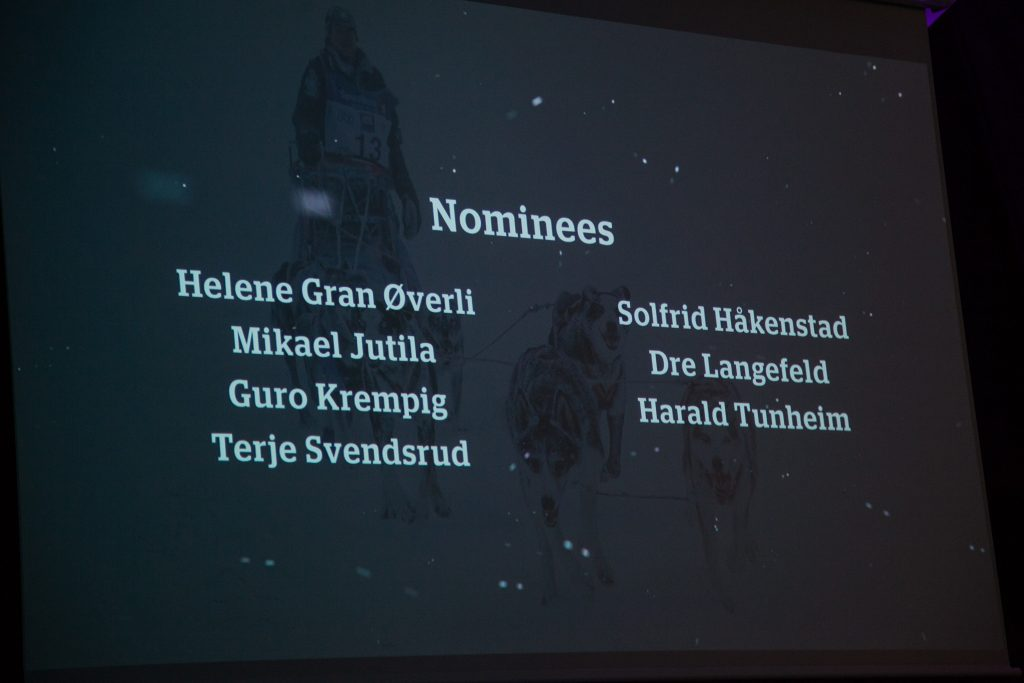 Nominees for FL-500 Best Dog Care Award. (Photo: Ann Helen Paulsen)