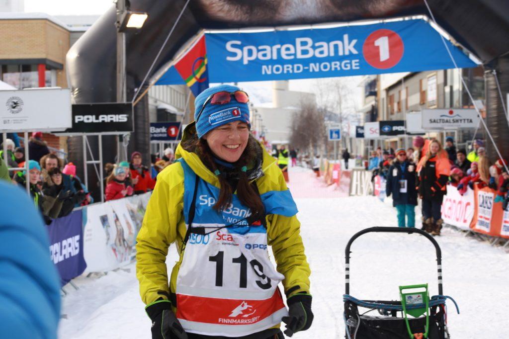 Rookie Solfrid Håkenstad kom inn til andreplass og sølvmedalje i formiddag. (Foto: Ann Christin Pettersen)