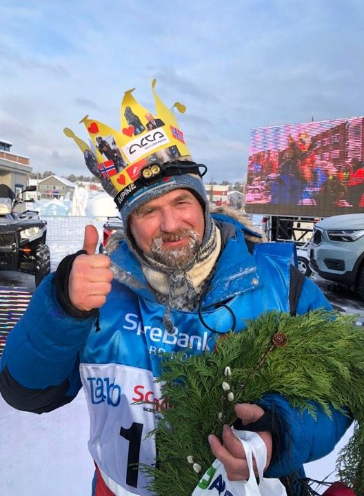 Kong Harald av Finnmarksløpet? (Foto: Siv Thorud)