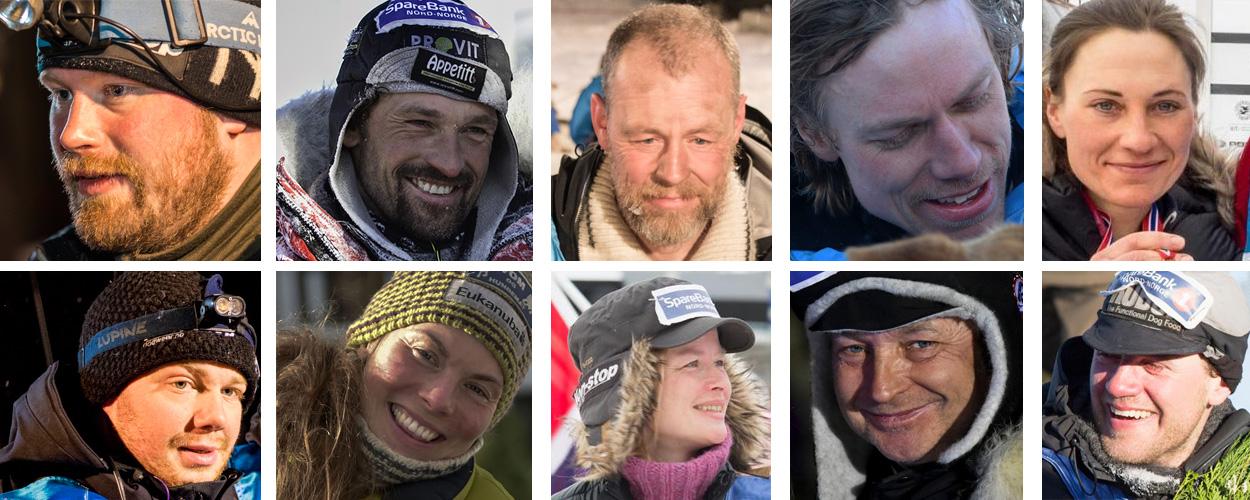 HVEM AV DISSE VINNER? Ø.fv. Kristian Walseth, Thomas Wærner, Petter Jahnsen, Arnt Ola Skjerve, Marit Beate Kasin