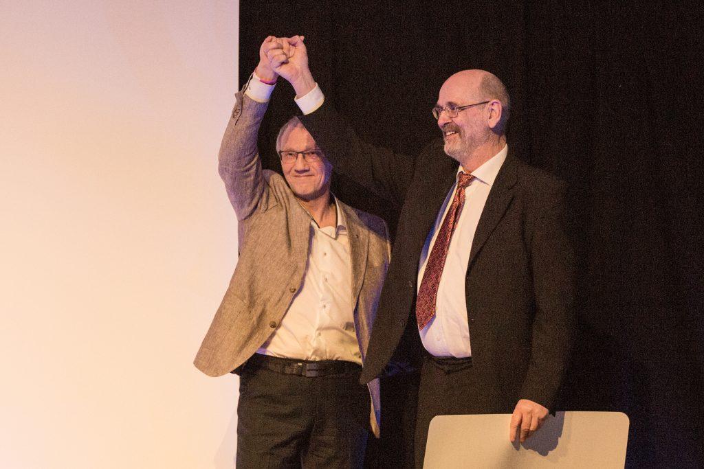 Yngve Iversen mottok prisen for 'Årets frivillige' (Foto: Mikhail Pankov)