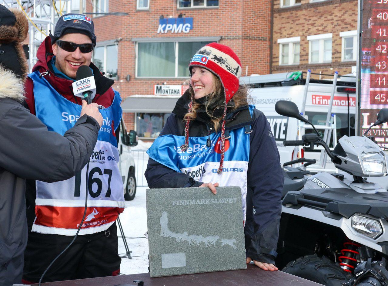 Linda Monsen Vassdal kjører inn til en 45. plass i FL-500. (Foto: Marit L. Abrahamsen)